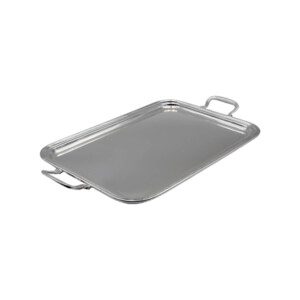RECTANGULAR -SILVER-ALLOY-TRAY