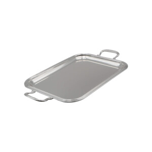 RECTANGULAR -SILVER-PLATED-TRAY