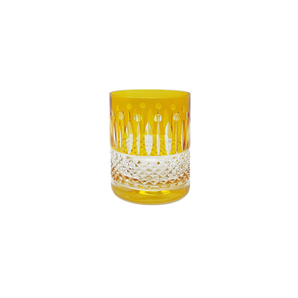 AMBER-CRYSTAL-GLASS